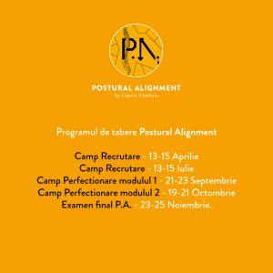 Programul de tabere Postural Alignment
